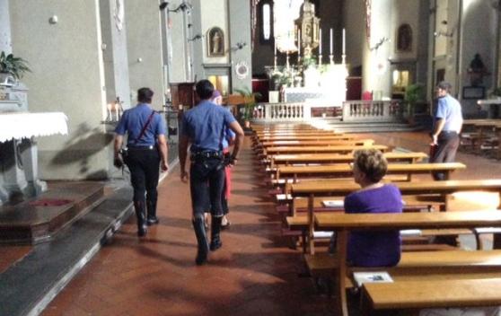 Furti in chiese: arrestati dai Carabinieri due uomini del catanese