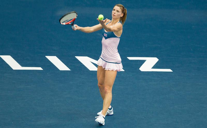 Tennis. WTA  di Linz: la marchigiana Camila Giorgi è in finale