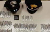 Aveva 400 dosi di hascisc in casa: 53enne arrestato dai Carabinieri