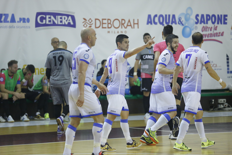 Calcio a 5. Acqua&Sapone Unigross a valanga sul Catania. I ragazzi di Pérez dilagano: 6 a 1