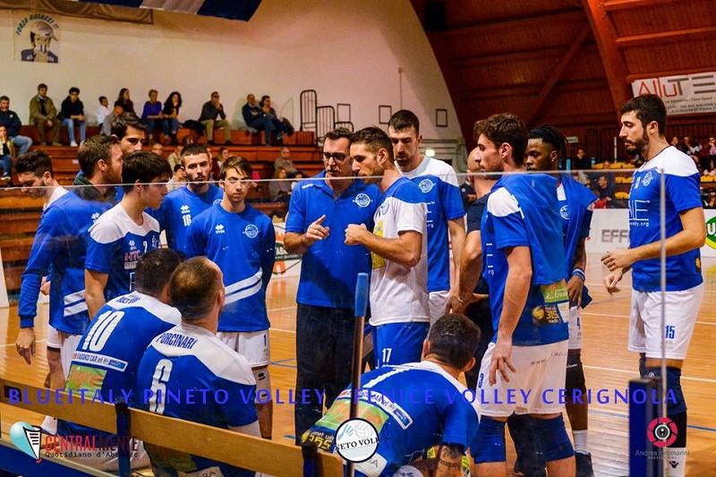 Pineto Volley serie B.La Blueitaly torna da Andria con il bottino pieno: 3 a 0