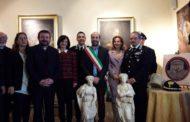 I Carabinieri di Firenze recuperano una scultura in marmo del XVI sec. trafugata nelle Marche
