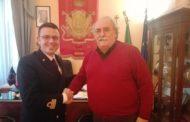Giulianova. Il Commissario incontra i comandanti di Guardia Costiera e Finanza