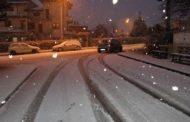 Meteo. Freddo e neve sull'entroterra delle Marche. Disagi nelle SAE