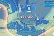 Meteo. Da domani freddo polare sui settori del medio e basso Adriatico