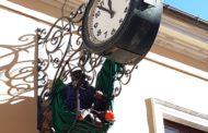 Giulianova.Torna a funzionare l'orologio civico di Corso Garibaldi