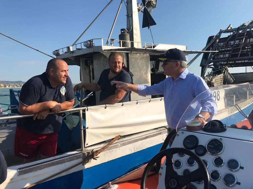 Abruzzo Elezioni Regionali. Dino Pepe conferma l'arrivo di finanziamenti per interventi nel porto di Giulianova