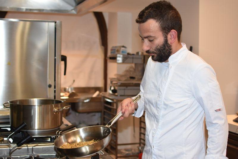 Pierpaolo Ferracuti , Chef marchigiano, cucinerà al