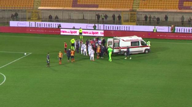 Calcio serie B. Lecce-Ascoli,anticipo dell 22/a giornata,rinviata a da destinarsi
