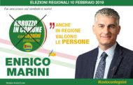 Abruzzo Elezioni. Enrico Marini, candidato  con