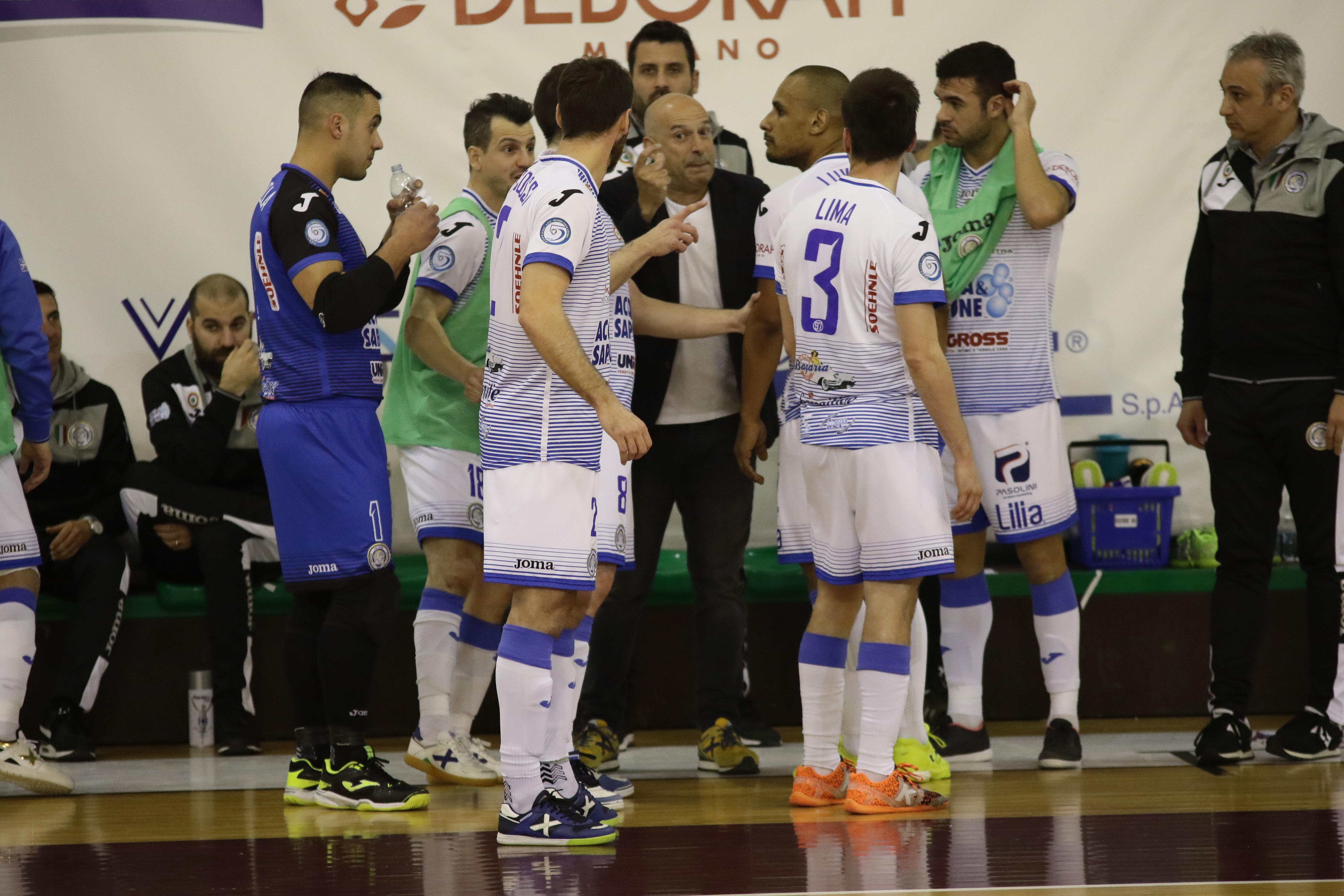 Calcio a 5.Acqua&Sapone Unigross:  trasferta a Eboli senza Cuzzolino e Jonas