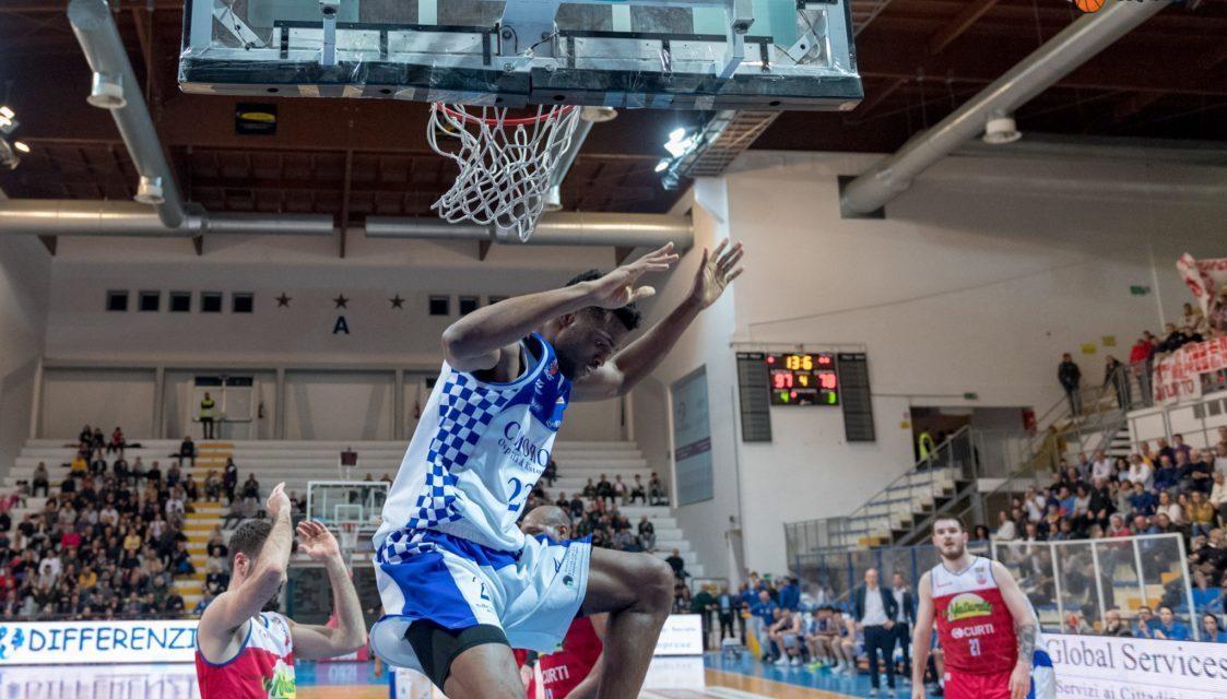 Roseto Basket.Gli Sharks travolgono(99-78) l'Imola. Salvezza sicura ora verso i Play-off