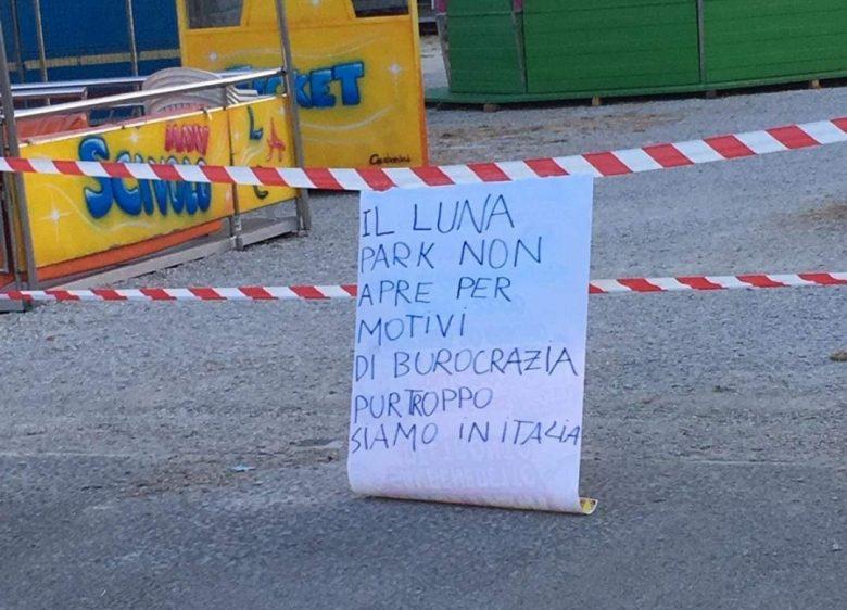 Calendario Lunare Tartufi 2020.Il Luna Park Non Apre Per Colpa Della Burocrazia
